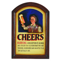 Pub Sign-Cheers