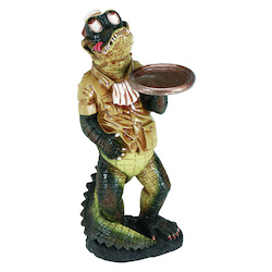 35In. H Gator Waiter