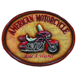 Pub Sign-Ride A Winner-22In.W