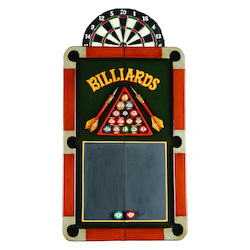 Billiards Dartboard Cabinet