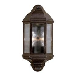 Acclaim Lighting Two Light Marbleized Mahogany Wall Lantern