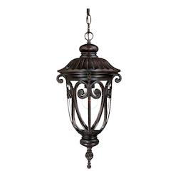 Acclaim Lighting One Light Marbleized Mahogany Hanging Lantern