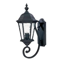 Acclaim Lighting One Light Matte Black Wall Lantern