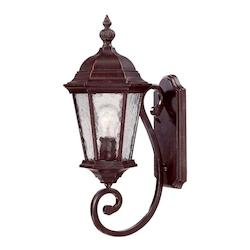 Acclaim Lighting Open Box One Light Marbleized Mahogany Wall Lantern
