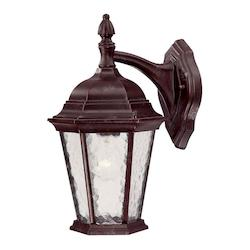 Acclaim Lighting One Light Marbleized Mahogany Wall Lantern