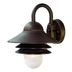 Acclaim Lighting One Light Architectural Bronze Marine Light
