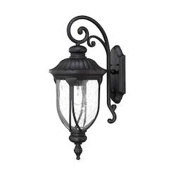 Acclaim Lighting Open Box Laurens Collection Wall-Mount 1-Light Outdoor Matte Black Light Fixture