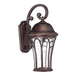 Acclaim Lighting Highgate Collection Wall Lantern 1-Light Outdoor Architectural Bronze Light Fixt