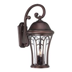 Acclaim Lighting Highgate Collection Wall Lantern 3-Light Outdoor Architectural Bronze Light Fixt