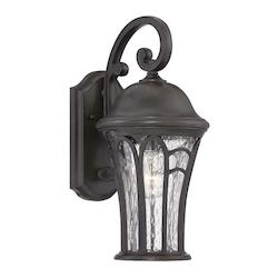 Acclaim Lighting Highgate Collection Wall Lantern 3-Light Outdoor Black Coral Light Fixture