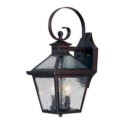 Acclaim Lighting Two Light Architectural Bronze Wall Lantern