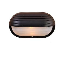 Acclaim Lighting One Light Matte Black Marine Light