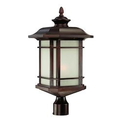 Acclaim Lighting One Light Architectural Bronze Post Light