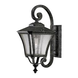 Acclaim Lighting Tuscan Collection Wall-Mount 1-Light Outdoor Black Coral Light Fixture