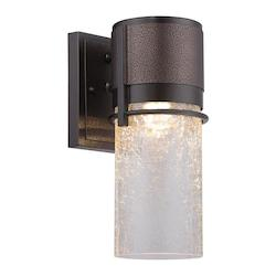Designers Fountain Open Box Burnished and Flemish Bronze Baylor 1 Light ADA Compliant Wall Sconce