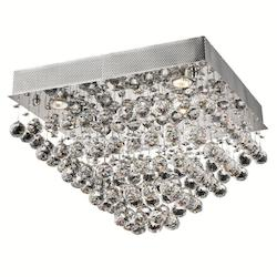 Elegant Lighting Royal Cut Clear Crystal Galaxy 5-Light