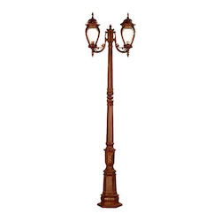 Acclaim Lighting Two Light Burled Walnut Post Light