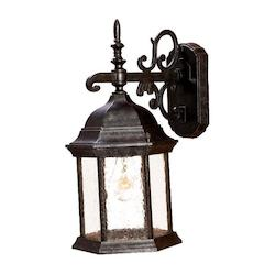 Acclaim Lighting One Light Stone Wall Lantern