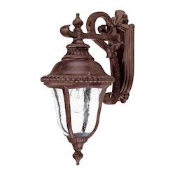 Acclaim Lighting One Light Black Coral Wall Lantern