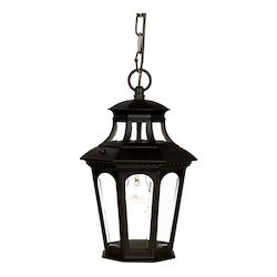 Acclaim Lighting One Light Matte Black Hanging Lantern