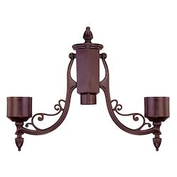Acclaim Lighting Architectural Bronze Post Adaptor