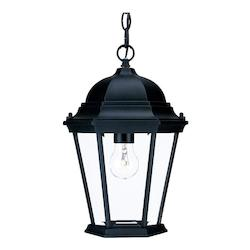 Acclaim Lighting Richmond Collection Hanging Lantern 1-Light Outdoor Matte Black Light Fixture