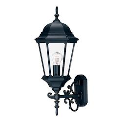 Acclaim Lighting Richmond Collection Wall-Mount 1-Light Outdoor Matte Black Light Fixture