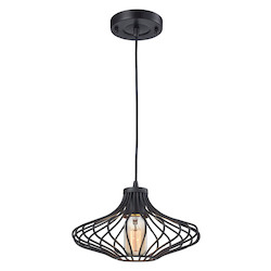 ELK Lighting Yardley 1 Light Pendant In Oil Rubbed Bronze