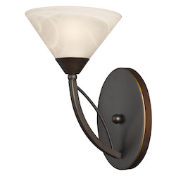 ELK Lighting 1 Light Vanity In Oil Rubbed Bronze