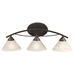 ELK Lighting 3 Light Vanity In Oil Rubbed Bronze