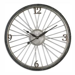 Uttermost Uttermost Spokes Aged Wall Clock