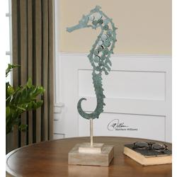 Uttermost Spiny Seahorse Sculpture