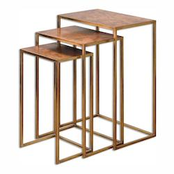 Uttermost Oxidized Copper Copres Stand Designed By Grace Feyock