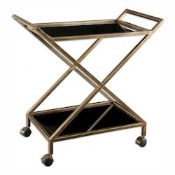 Uttermost Antique Gold Iron Zafina Metal Stand