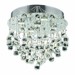 Elegant Lighting Flush Mount Chrome