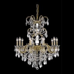 Elegant Lighting Dining Room Chandelier French Gold