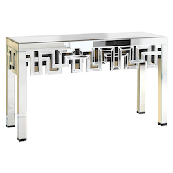 Elegant Decor Table 51.75In.X15.75In.X35.5In.H Gd