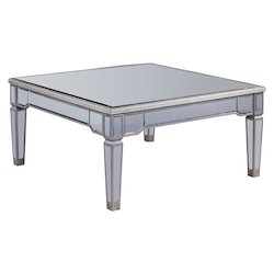 Elegant Decor Coffee Table 38In.X38In.X19In.H Sc