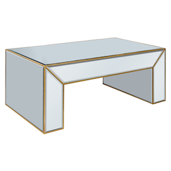Elegant Decor Coffee Table 50In.X28In.X20In.H Gc