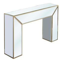 Elegant Decor Console Table 52In.X12In.X34In.H Gc