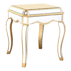 Elegant Decor Lamp Table 22In.X22In.X26In.H Gc