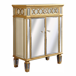 Elegant Decor 2 Door Cabinet 28In.X14In.X36In.H Gc