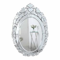 Elegant Decor Clear Mirror 33in. Wide Mirror from the Venetian Collection