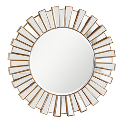 Elegant Decor Silver / Clear Mirror 51in. Wide Mirror from the Modern Collection