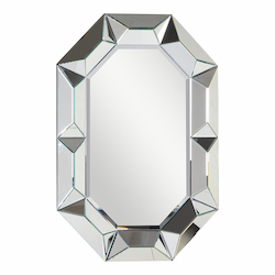 Elegant Decor Clear Mirror 34in. Wide Mirror from the Modern Collection