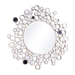 Elegant Decor Clear Mirror 47-1/5in. x 47-1/5in. Wall Mirror from the Modern Collection