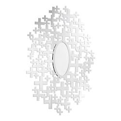Elegant Decor Clear Mirror 51in. x 35-2/5in. Wall Mirror from the Modern Collection