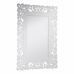 Elegant Decor Clear Mirror 55in. Wide Mirror from the Modern Collection