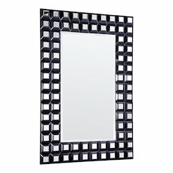 Elegant Decor Clear Mirror 39in. Wide Mirror from the Modern Collection