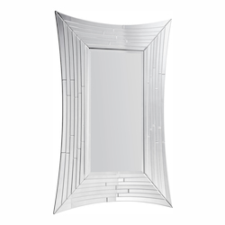 Elegant Decor Clear Mirror 53in. Wide Mirror from the Modern Collection